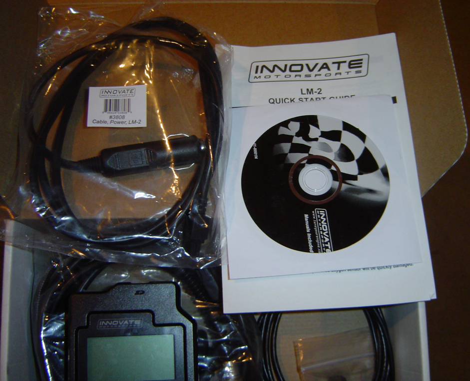 FS: Innovate LM-2 AFR Wideband Meter Basic Kit w/ RPM Clamp • MyE28 com